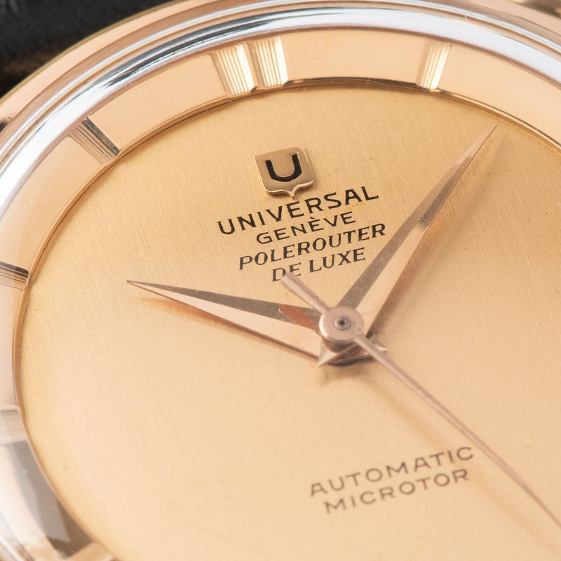 Universal Geneve Polerouter Deluxe Red Gold 103571