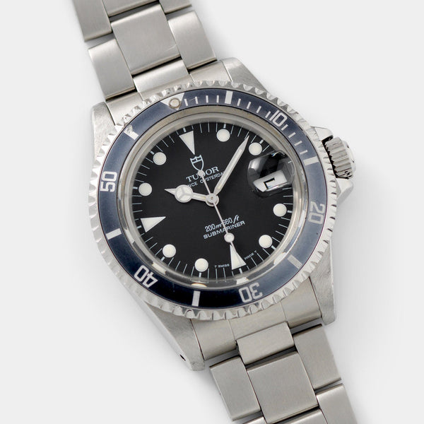 Tudor Submariner Date Black Dial Reference 79090
