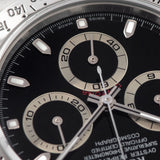 Rolex Daytona Steel 116520 Black Dial Box and Papers set  Swiss Made perfect dial