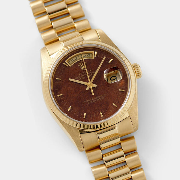 Rolex Day-Date Wood Dial Reference 18038