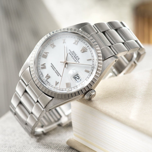 Rolex Datejust White Dial 16030