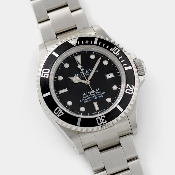 Rolex Seadweller Reference 16600 Box and Papers