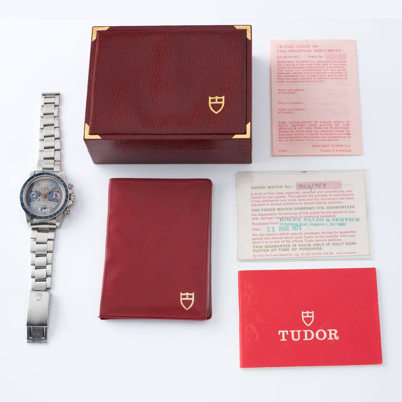 Tudor Monte Carlo Chronograph 7149 Box and Papers