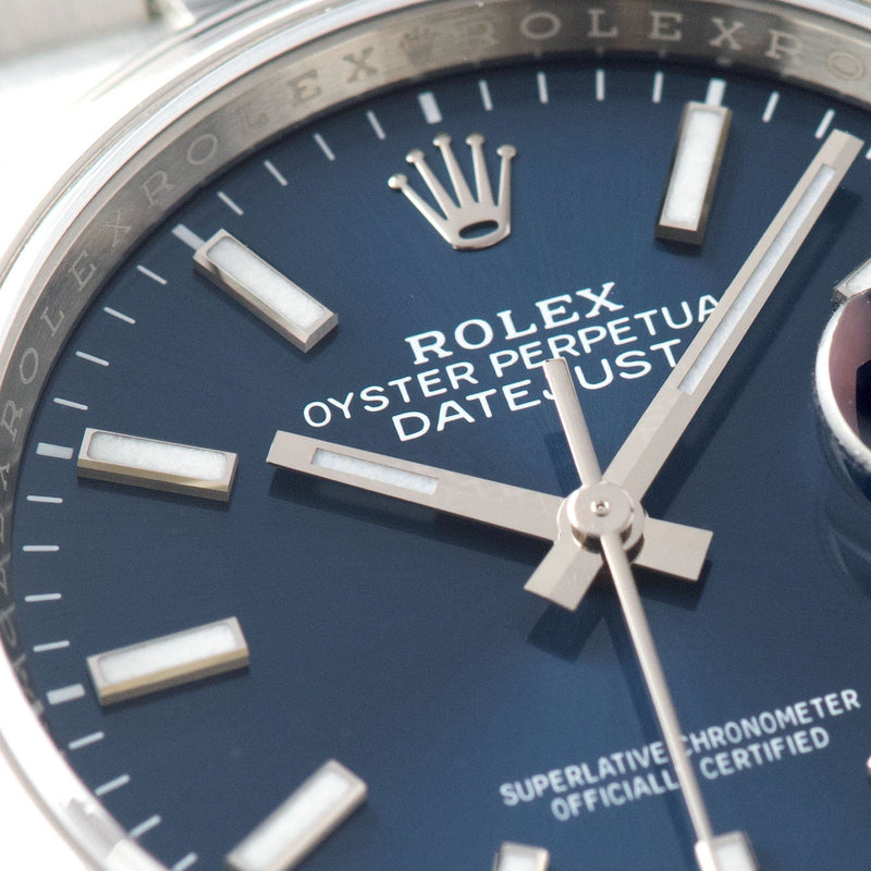Rolex Datejust Blue Dial 126200 2020