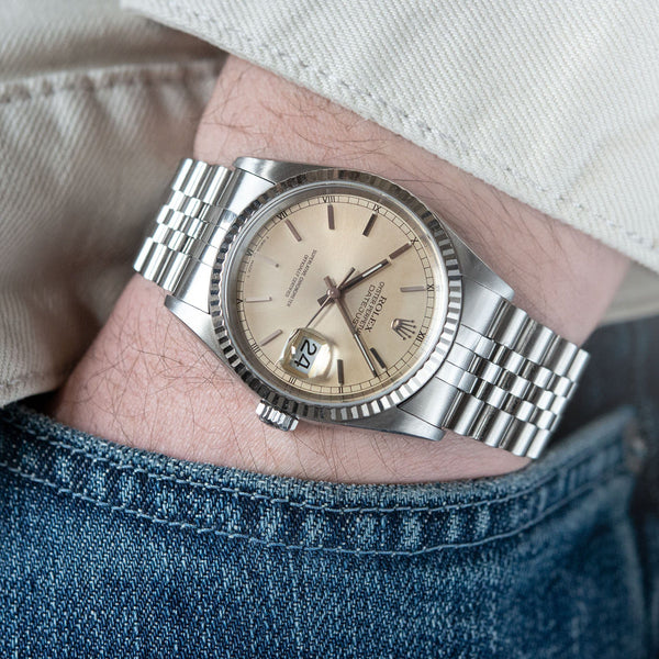 Rolex Datejust Colour-Change Cream Dial Reference 16234