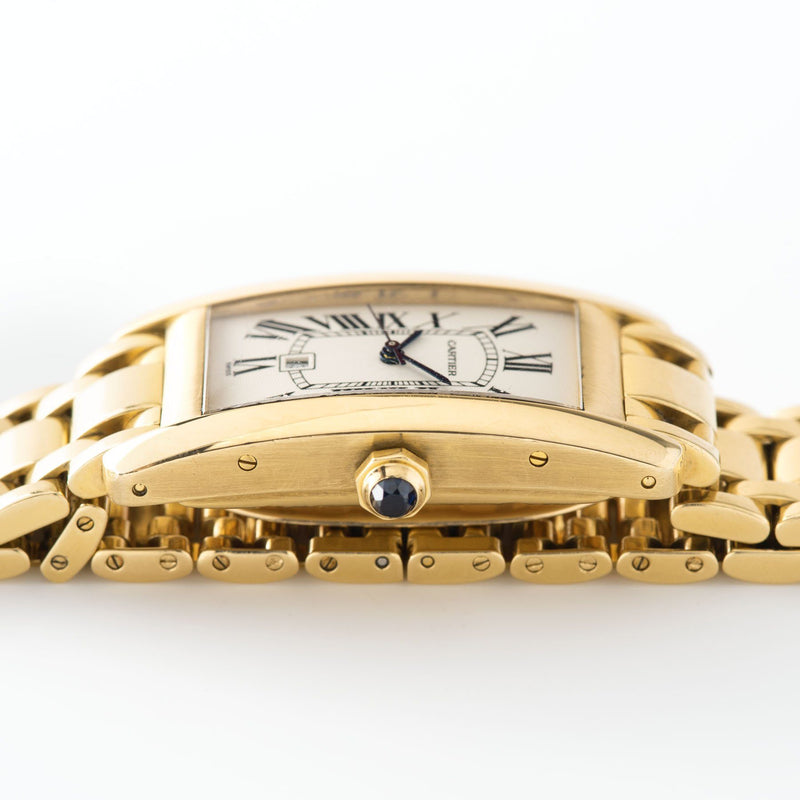 Cartier Tank Americaine Yellow Gold Ref 1725