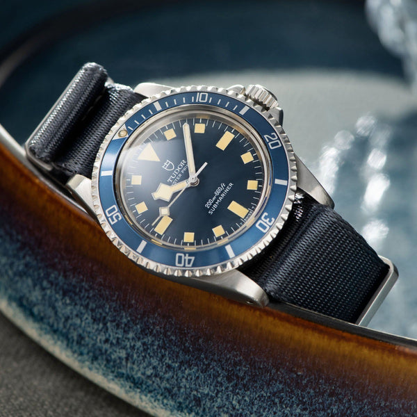 Tudor Marine Nationale MN78 Submariner 9401 with Papers