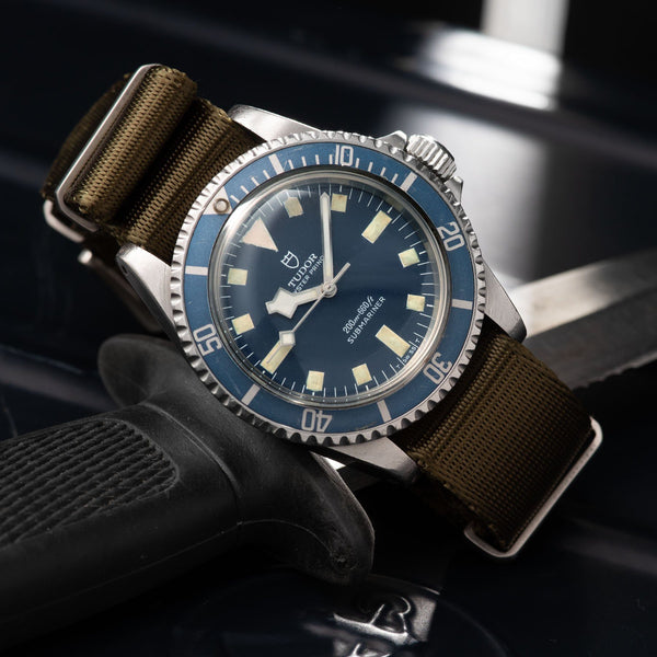 Tudor Marine Nationale MN80 Submariner 9401 with Papers
