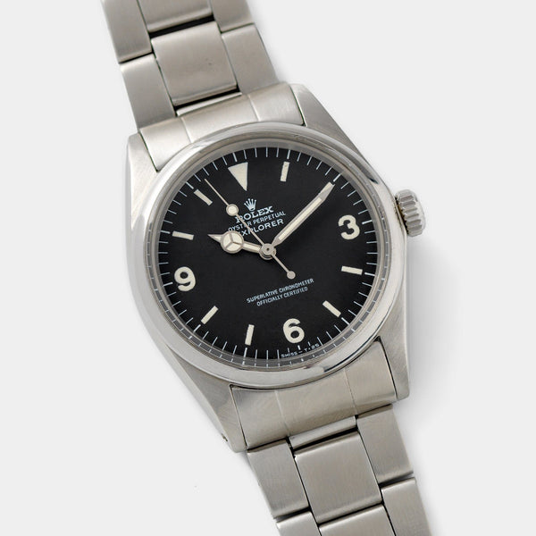 Rolex Explorer Reference 1016 Frog Foot Dial