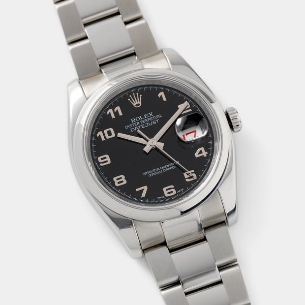 Rolex Black Dial State of Kuwait Datejust 116200