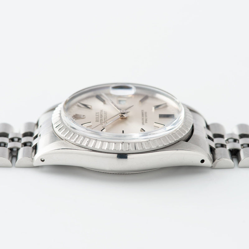 Rolex Datejust Silver Dial 16030
