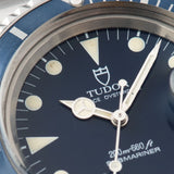 Tudor Submariner Date Blue Dial Reference 79090