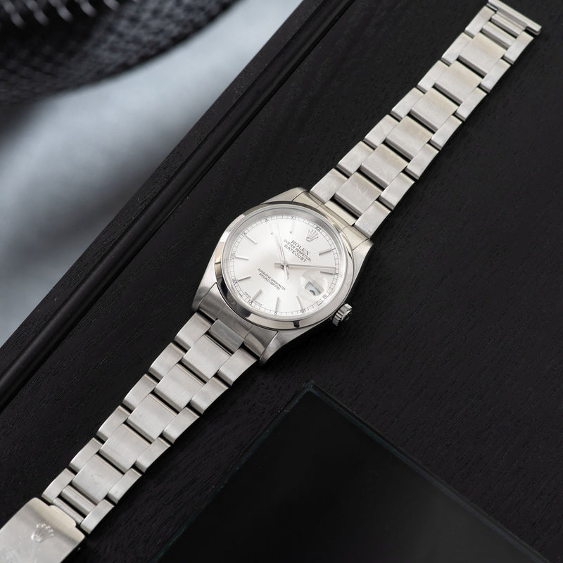 Rolex Datejust Silver Dial Reference 16220