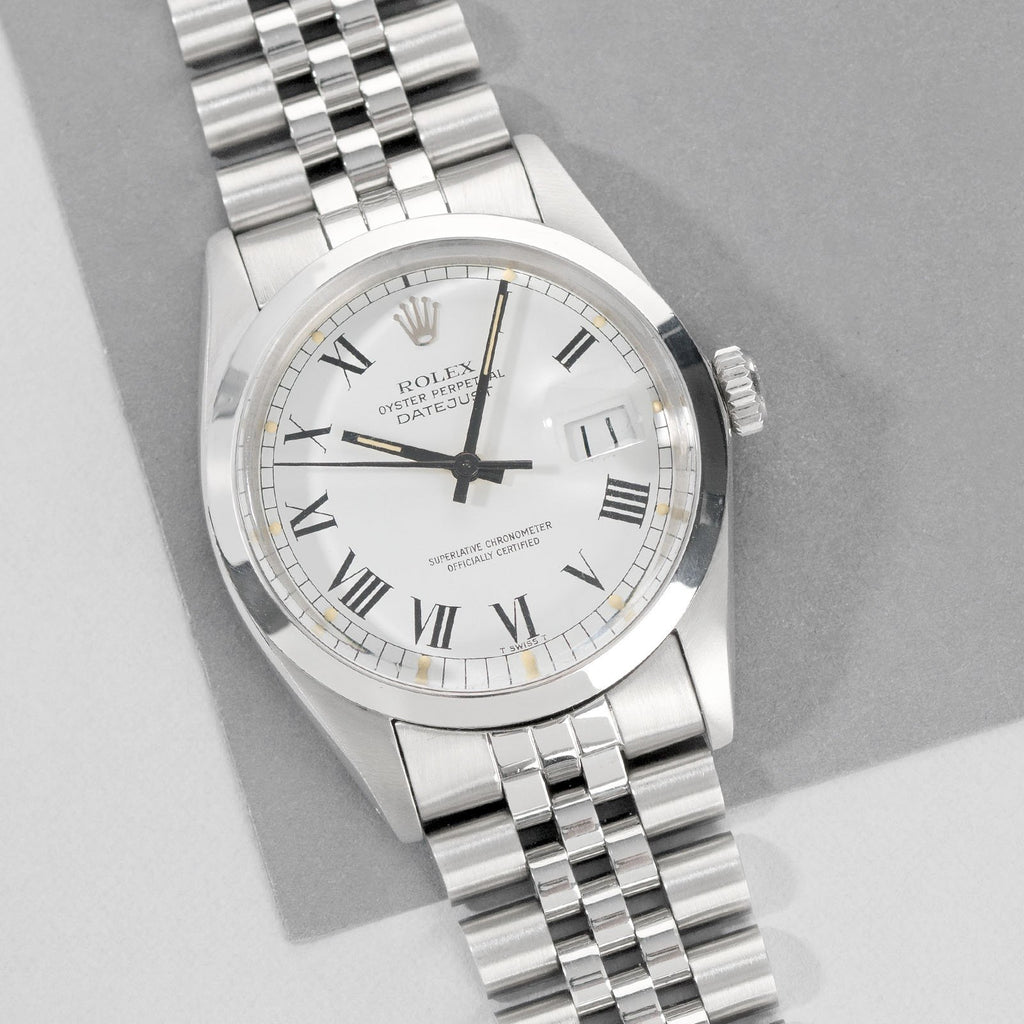 Rolex Datejust Ref. 16000 Buckley Dial with Papers