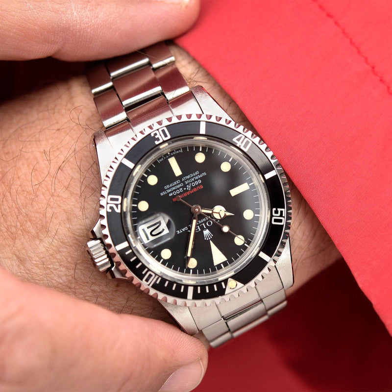 Rolex Red Writing Submariner Date 1680