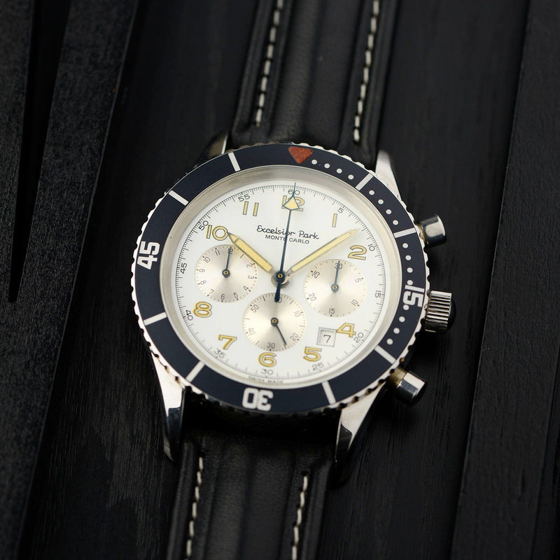 Excelsior Park Montecarlo Chronograph New Old Stock