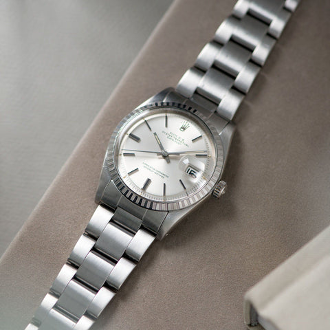 Rolex Datejust Silver Sigma Dial 1603