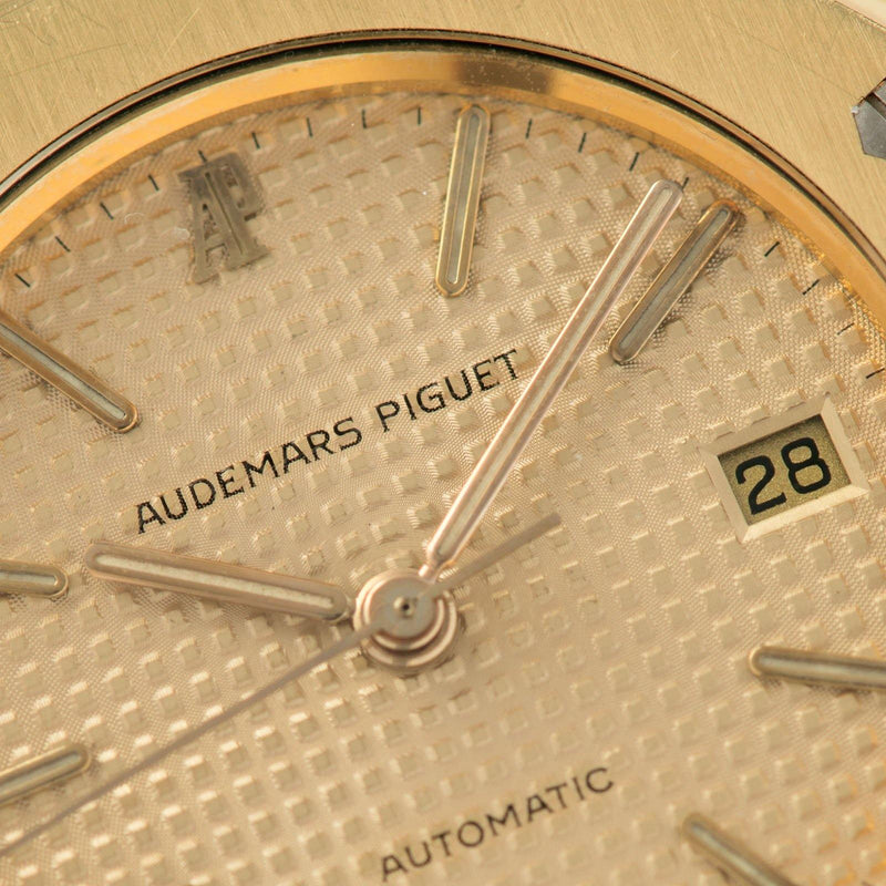 Audemars Piguet Royal Oak Yellow Gold 4100