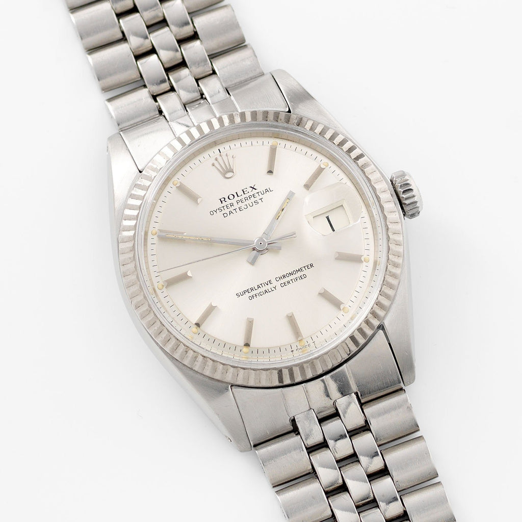 Rolex Datejust Silver Dial 1601