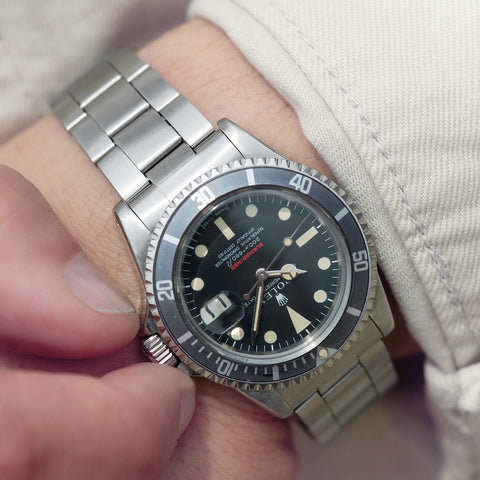 Rolex Red Writing Meters First Submariner Date 1680