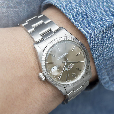 Rolex Datejust Taupe Dial Reference 16030