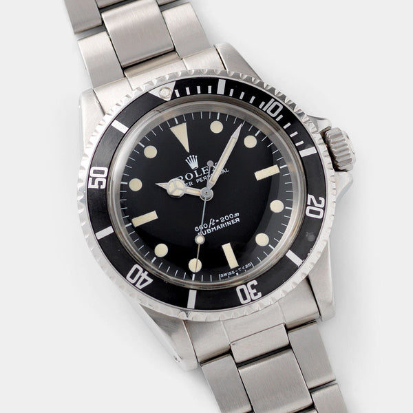 Rolex Submariner Non-Serif Dial 5513 with papers