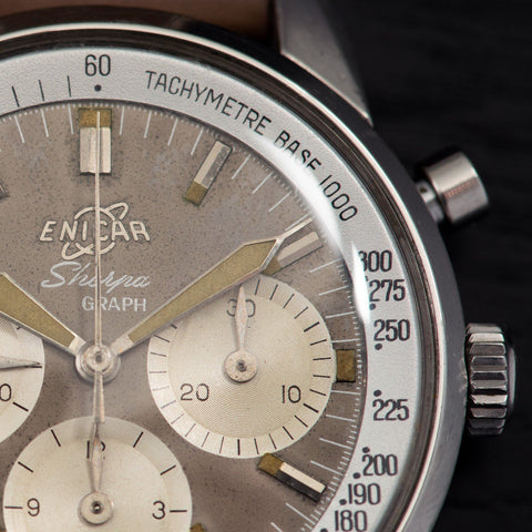Enicar Sherpa Graph Mk1 Chronograph Stirling Moss