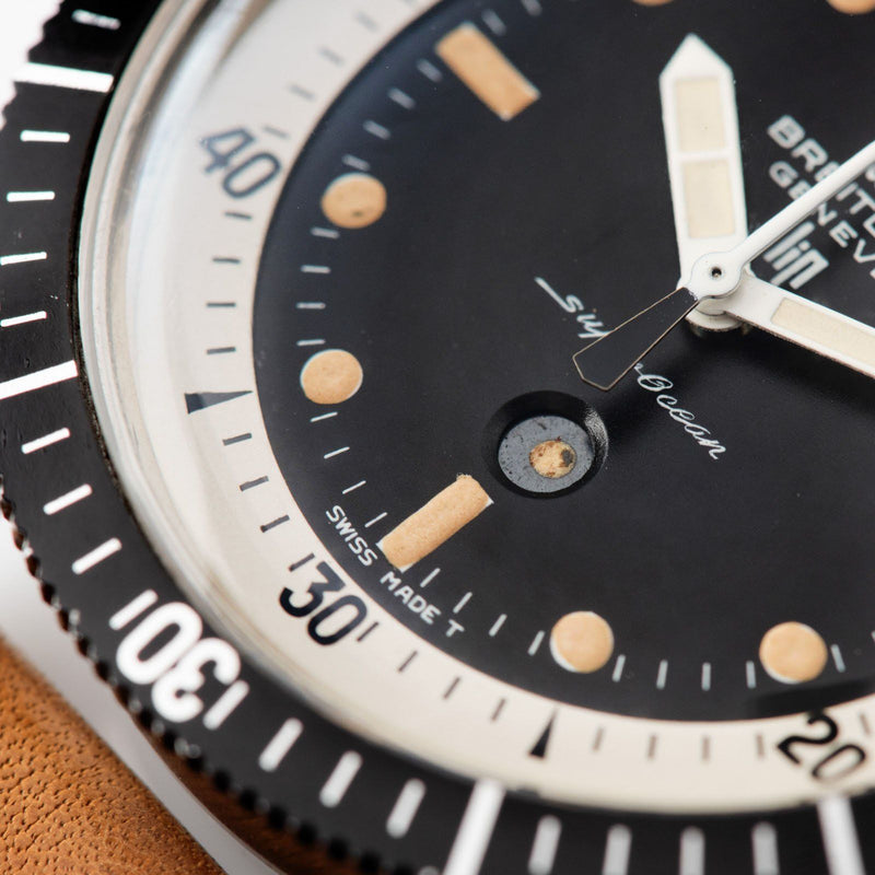 Breitling Super Ocean 2005 Slow Chrono Double Signed Lip