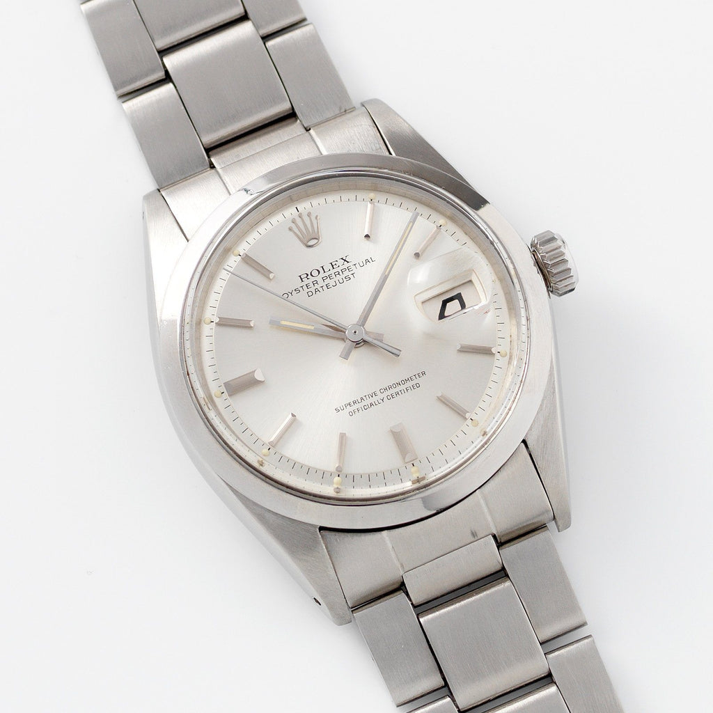 Rolex Datejust Silver Dial 1600