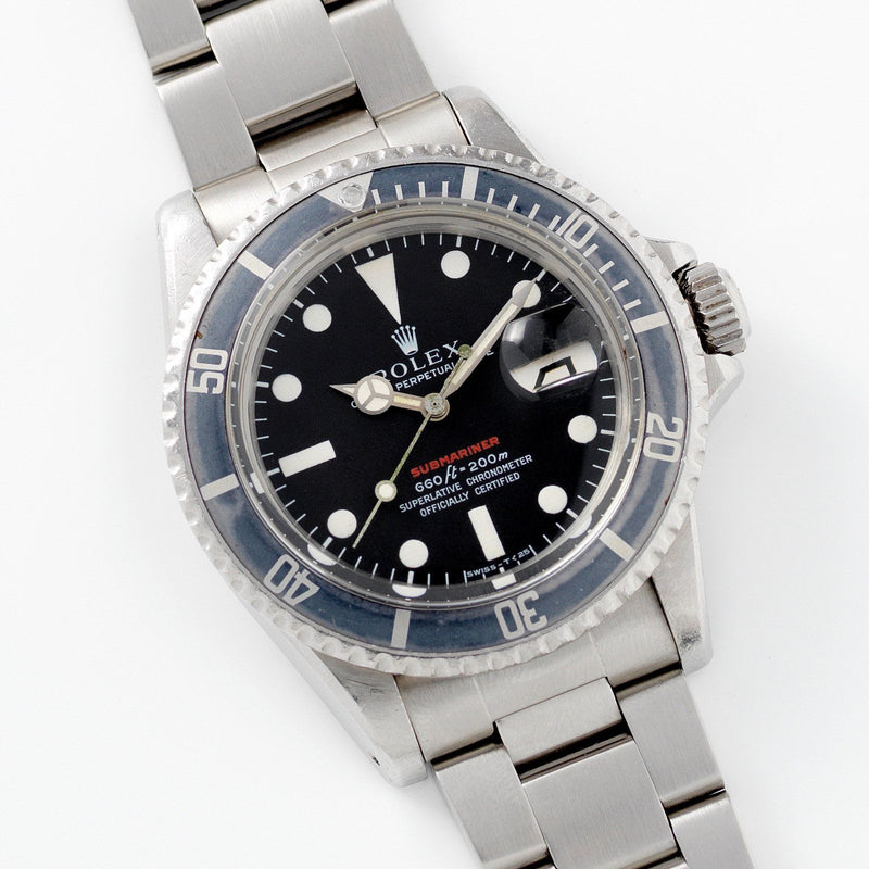 Rolex Mk 4 Red Submariner Date 1680