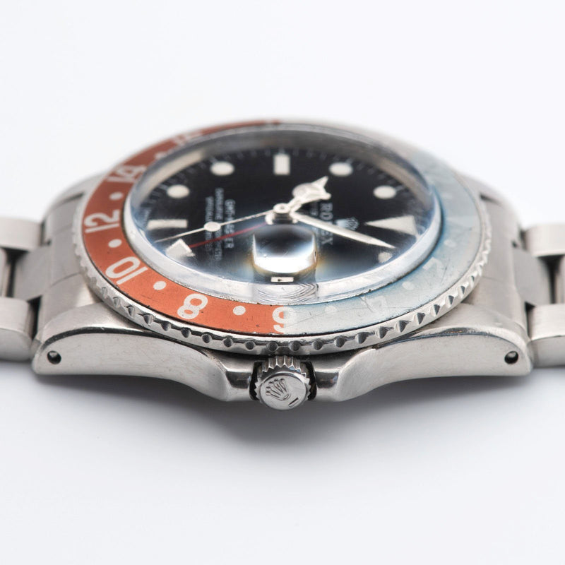 Rolex 1675 Mk2 Dial GMT Master Box and Papers Set