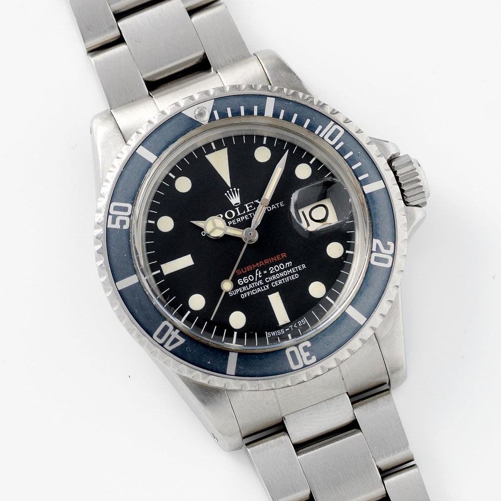 Rolex Mk5 Red Submariner Date 1680