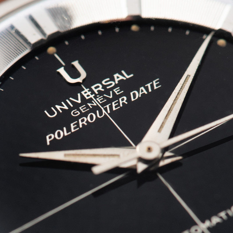 Universal Geneve Polerouter Date Gilt Dial Ref 317537
