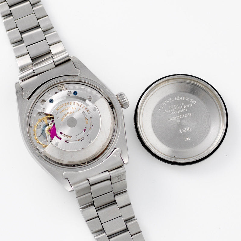 Rolex Date Reference 1500 Grey Sigma Dial