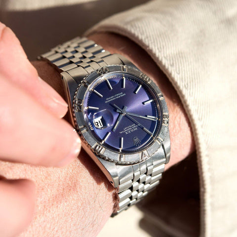 Rolex Datejust Turn-O-Graph Purple Dial Ricciardi 1625