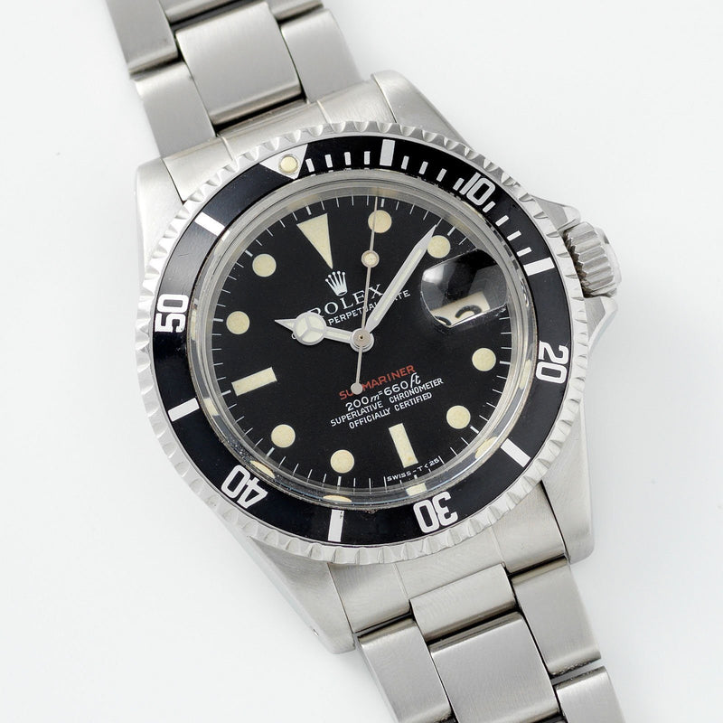 Rolex Mk1 Meters First Red Submariner Date 1680