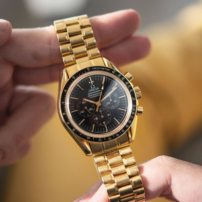 Omega Golden Nugget Speedmaster 31945000