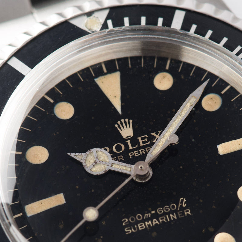 Rolex Submariner Gilt Dial 5513