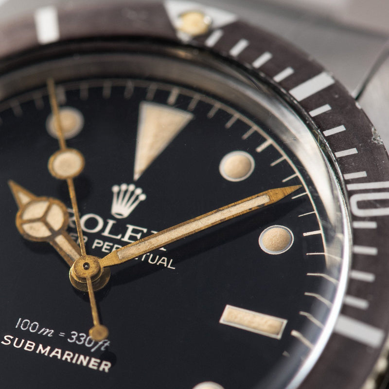 Rolex Explorer Gilt Dial Small Crown Submariner 5508