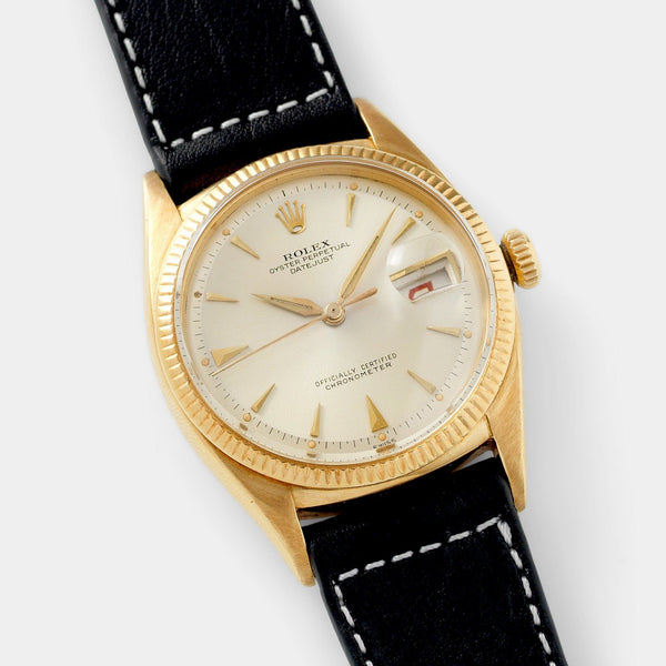 Rolex Datejust 6305 Yellow Gold Ovettone
