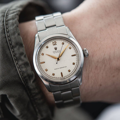 Rolex Oyster Sunken Hours Dial Reference 6282