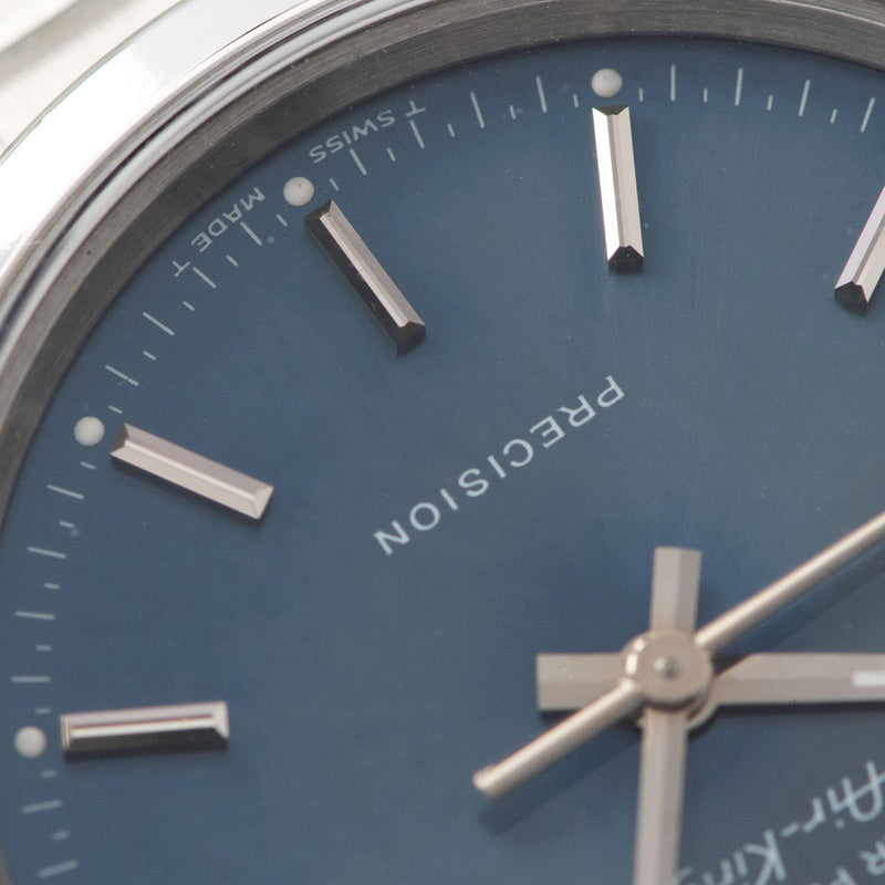 Rolex Air King Reference 14000 Blue Soleil Dial