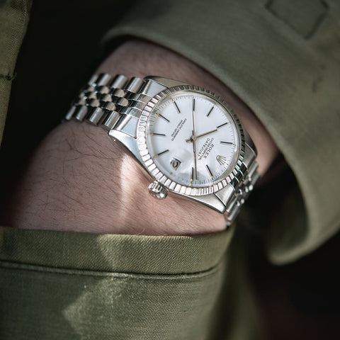 Rolex Datejust Polar White Dial 16030