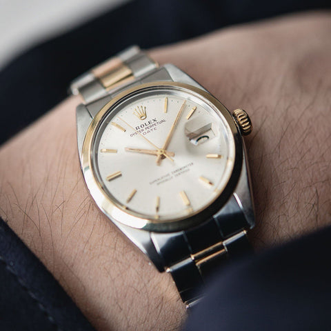 Rolex Oyster Perpetual Date Two-Tone Ref 1500