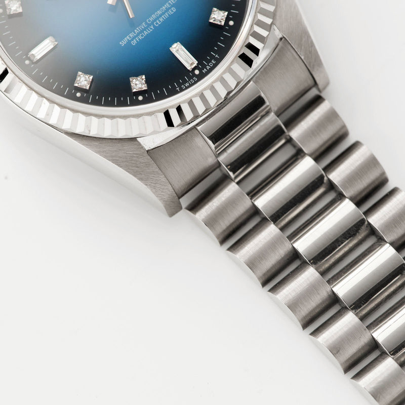 Rolex Day-Date Blue Dégradé Dial 18039