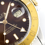 Rolex 16753 Brown Dial GMT Master Root Beer