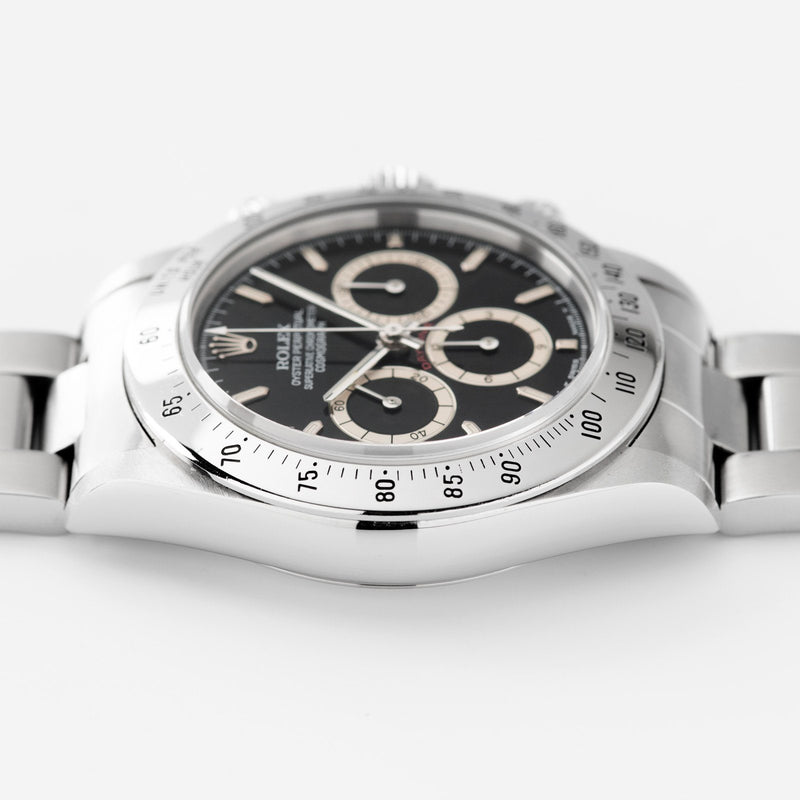 Rolex Daytona Steel 16520 Black Four Line Dial