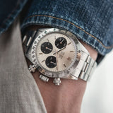 Rolex Daytona 6265 Big Eye Silver Dial