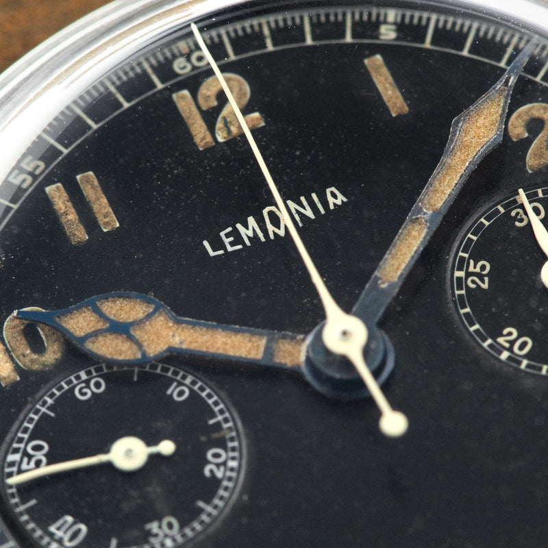 Lemania Two-Register Chronograph
