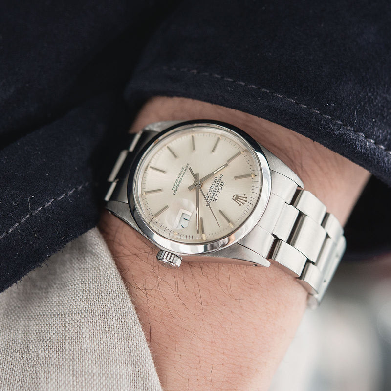 Rolex Datejust Reference 16000 Silver Dial